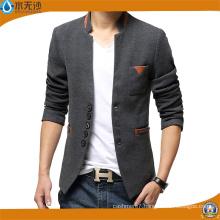 OEM Men′s Slim Fit Knitting Blazer Fashion Cotton Blazer