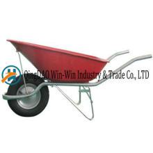Wheelbarrow Wb8900 Rueda de ruedas neumática
