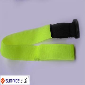 Color Hook and Loop Strap with Plastic Buckle
