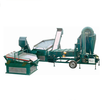 5 ton/hour seed grain cleaning line