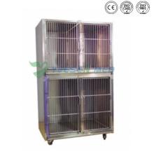 Ysvet8103 Hospital Clinic 304 Caisses pour chiens en acier inoxydable