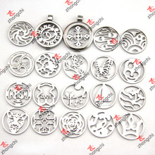 Stainless Steel Coin Pendant Locket in Jewelry Fashion Trends (CL01-16)