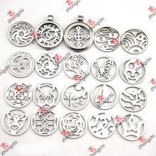 Locket do pendente da moeda do aço inoxidável em tendências da forma da jóia (CL01-16)