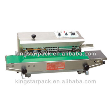 DBF-900W Continuous sealing machine with ink printing 8