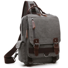Messenger Canvas Shoulder Handbags Backpack Haversack Rucksack
