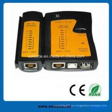 Probador del cable de la red / del LAN (ST-CT468USB) con alta calidad