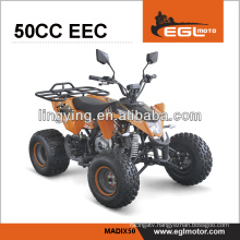 ATV, quad 50 cc with EEC