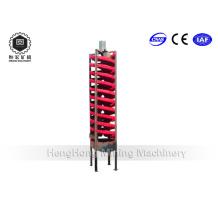 Lab Spiral Chute Separator für Gold Eisen Kupfererz