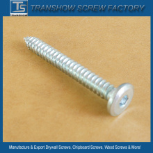 Zinc Galvanized Allen Drive Flat Head Self-Tapping Screws