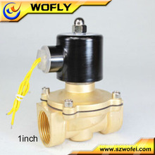 1/2 inch brass water hammer 220V solenoid valve