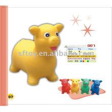 PVC-Schwein-aufblasbares Tier-Spielzeug