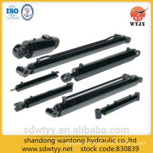 single telescopic column of hydraulic support for mining and marine
