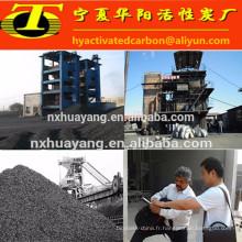 Traitement des eaux usées anthracite au charbon actif