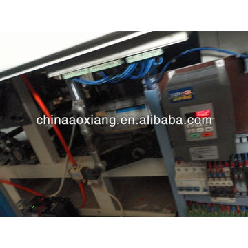 Computer control rolling T-shirt & flat bag making machine machine for making leather bags