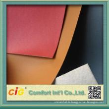 Haute qualité pu chaussure en cuir artificiel