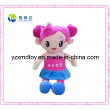 Cute Girl Plush and Stuffed Baby Doll
