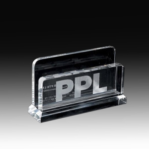 Crystal Card Holder for Business Card
