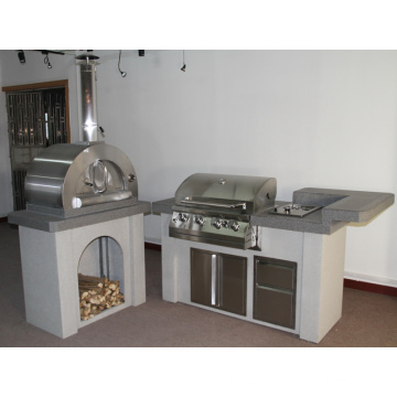 Luxury Outdoor BBQ Gas Grill Kitchen Island with CSA