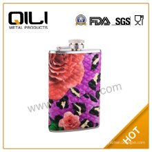 PU Leather & Steel Excellent Quality Hip Flask