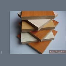 8 mm mdf with wood veneer 1220 x 2440 mm