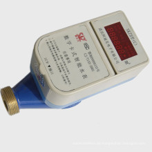 Kontakt IC-Karte Prepaid Wasser-Messinstrument für Haushalt-bewegliches Wasser