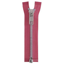 High Quality #8 Open End Aluminum Zipper (SB-M111602)