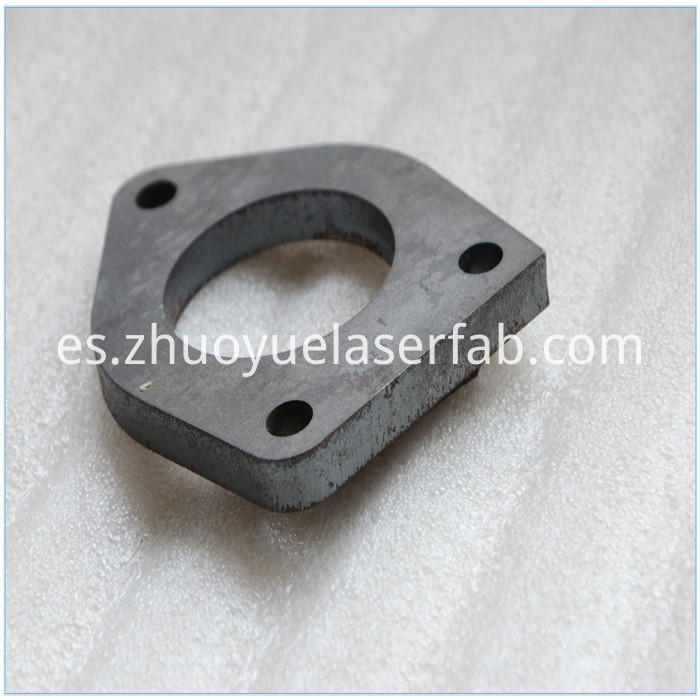 laser cutting metal part