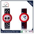Wasserdichte Quarz-Silikon Armbanduhr Slap Kinder Armbanduhr (DC-1052)
