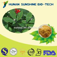 HPLC 80% GINSENG BLATT EXTRAKT GINSENOSIDE / kein Insektenvernichter Panax Ginseng PE