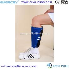 Terapia física del dispositivo de compresión del becerro