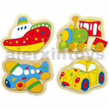 Wooden Vehicles Puzzles (80969)