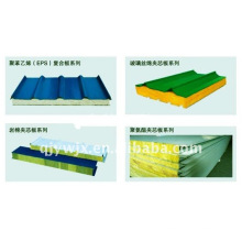 EPS 980 sandwich panel roofing tile making machine