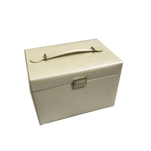 Classic Decorative Big White Jewelry Storage Box