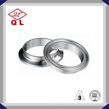3A 304 / 316L Sanitária aço inoxidável Tc Tri Clamp Ferrule 14wmp