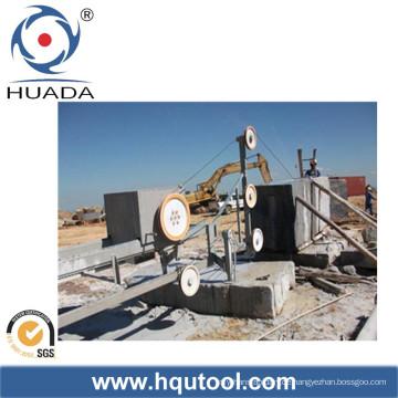 Diamant-Drahtsäge-Maschine für das Granit-Block-Quadrieren