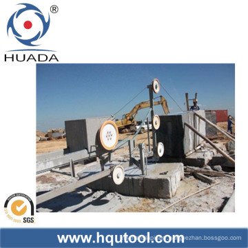 Wire Saw Machine for Stone Block Squaring