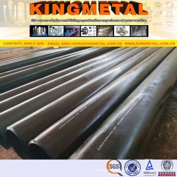 Tubulação sem emenda de aço de alta pressão caldeira tubo 12cr1movg carbono.