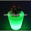 solar flor conduzido pot luz/mudança da cor para atacado