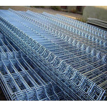 Geschweißte Mesh-Platte / PVC-beschichtete Metalldraht-Zaunpaneele