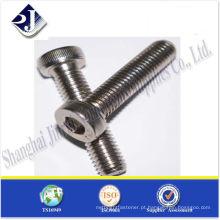 Parafusos de cabeça hexagonal SS304 / 316 ISO4762