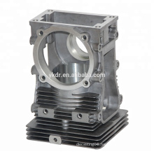 China aluminum die casting valve body High pressure die casting machining cnc machining Sand casting