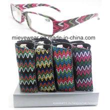 Мода пластиковые очки чтения (DPR014)
