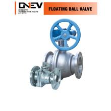 """CE 3 peças válvula de esfera de aço carbono (Q41F-6 """")"""