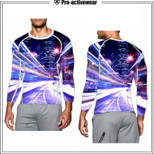 Top Quality Polyester Lycra UV Rash Guards for Men