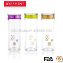 Эко-подгонять говяжью простые прозрачные пластиковые питьевой бутылки воды