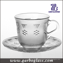 Tableware Glass Mug & Saucer Set/Tea Set (GTZ-GB09D2806MH)
