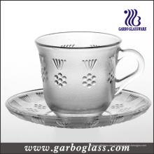 Caneca de vidro & copo de chá (GB09D2806MH)