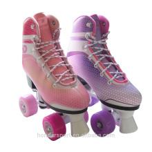 Design avancé pu roues professionnelles art quad skates à vendre