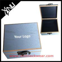 Beste Qualität hölzerne Krawatte Display Box