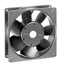 Carcasa de aluminio Impulsor plástico DC13538 Ventilador axial